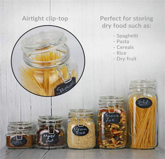 High Quality Glass Jar with Clip Lock