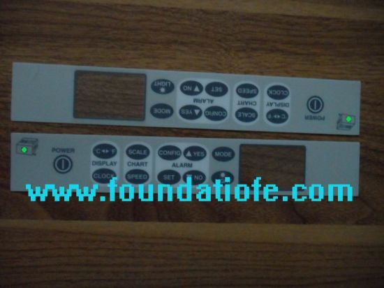 Touch Screen Label Graphic Overlay Press Panel Membrane Keypad