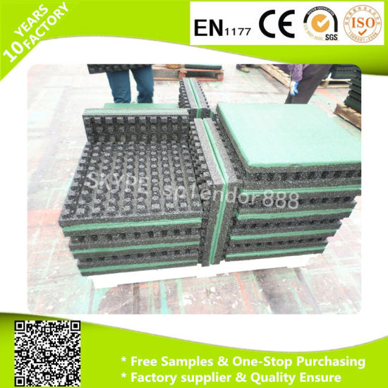 Industrial Gym Rubber Flooring Tiles Mats Rolls pictures & photos