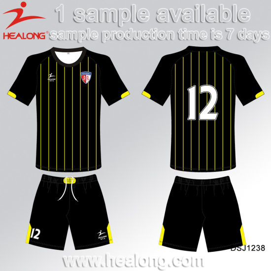 Sublimation Custom Kid Football Shirt Maker Soccer Jersey pictures & photos