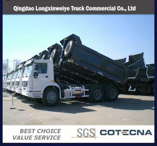 2015 New HOWO 20cbm Dump Truck for Africa Market