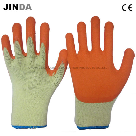 Latex Coated Construction Work Gloves (LS013)