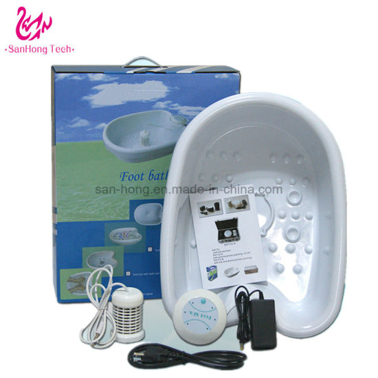 Electric Vibration SPA Foot Bath Massager Free Shipping (844H) pictures & photos