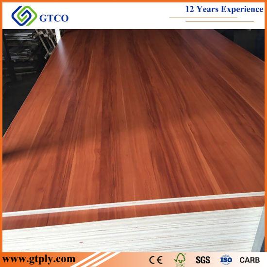 1220*2440*12mm Poplar Core Melamine Face/Back Laminated Plywood