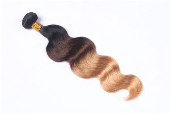 14inch Best Quality Virgin Remy Human Hair Extensions Ombre Colors Body Wave Factory Wholesale Price