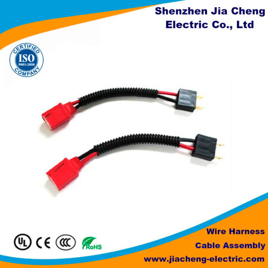 China Customized Automotive Electronic Wire Harness for Power Cable on