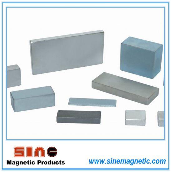Block Neodymium Magnet (NdFeB Magnet) N35 / N38 / N45