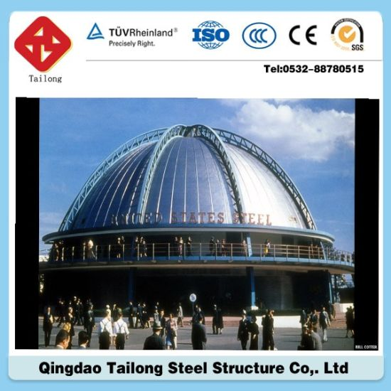 Prefabricated Steel Structure Projection Advertising Building pictures & photos