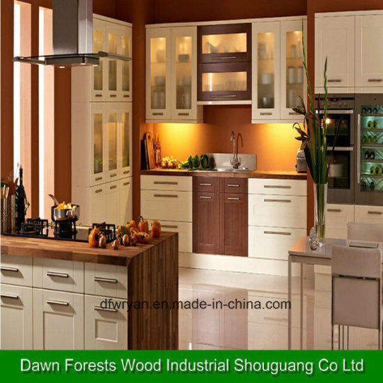 Melamine, /High Glossy UV/ PVC Surface Kitchen Cabinet pictures & photos