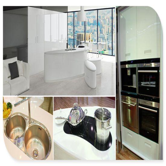 Luxury Custom Stainless Steel Kitchen Cabinet