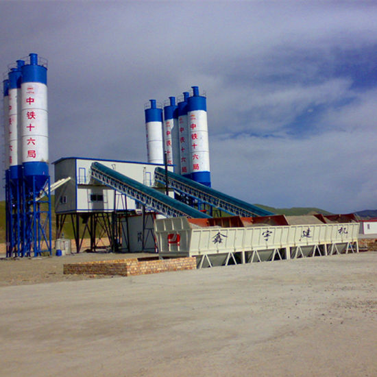 Hzs120 Concrete Mixing Plant for Ready Mix Concrete Plant pictures & photos