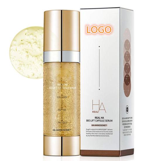 Private Label 24K Gold Firming & Volumizing Facial Serum