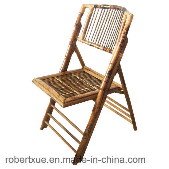 china wholesale bamboo folding chairs for rent china bamoo folding