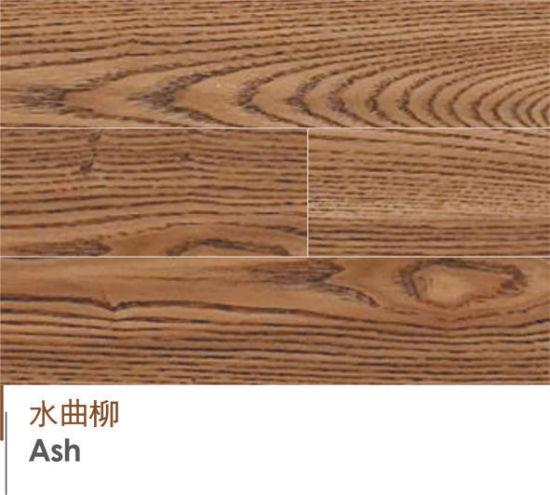 China Three Layer Ash Wood Engineered Flooring China Solid Wood