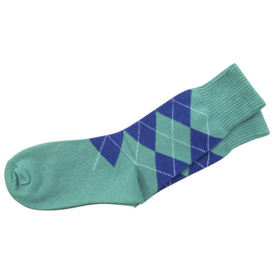 dfa2823c21 Men Women Stocking Plain Dress Socks with Cotton (fps-01) pictures   photos
