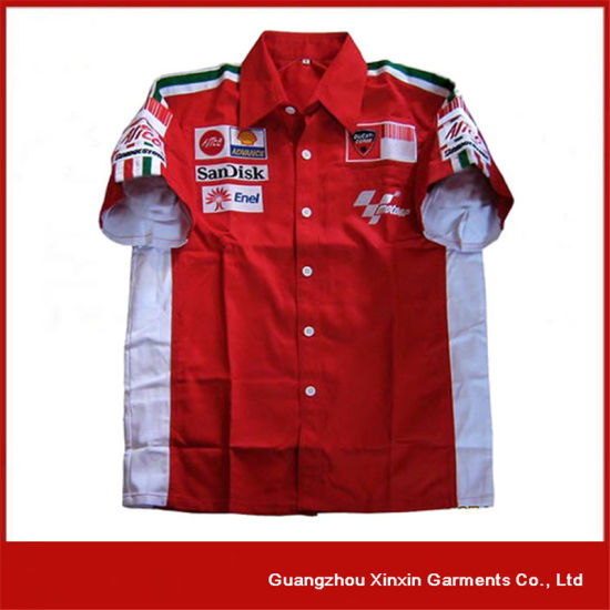 Custom Made Short Sleeve Shirt Manufacturer (S38) pictures & photos