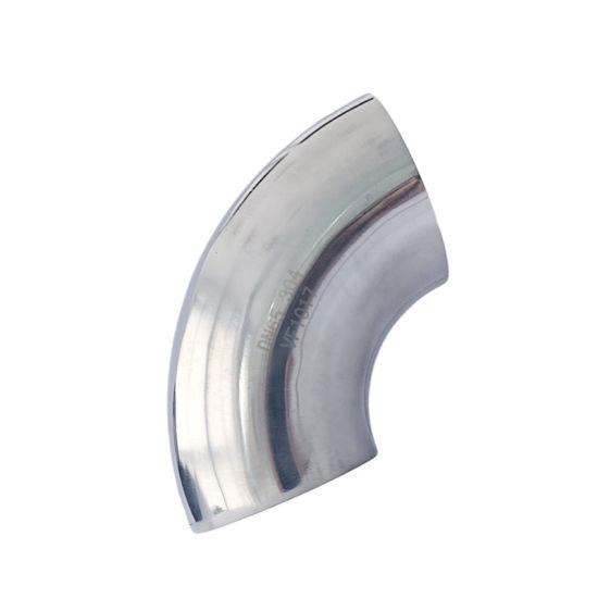 High Pressure Pipe Mirror Polishing 90 Degree Elbow Fitting