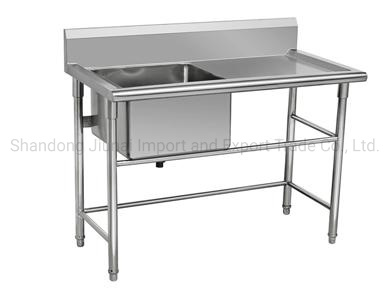 Customized Commercial Restaurant Deep Kitchen Sink Outdoor Stainless Steel Bowl