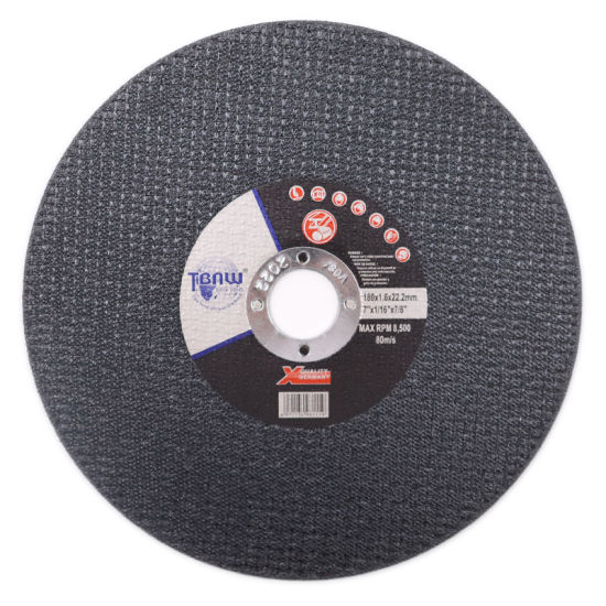 Factory 180*1.6*22mm Abrasive Steel Cuting Disc Cutting Wheels for Metal