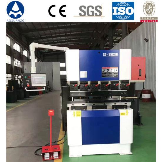 Xd-3512 Hydraulic Servo Sheet Metal Plate Under Drive CNC Press Brake/Bending Machine