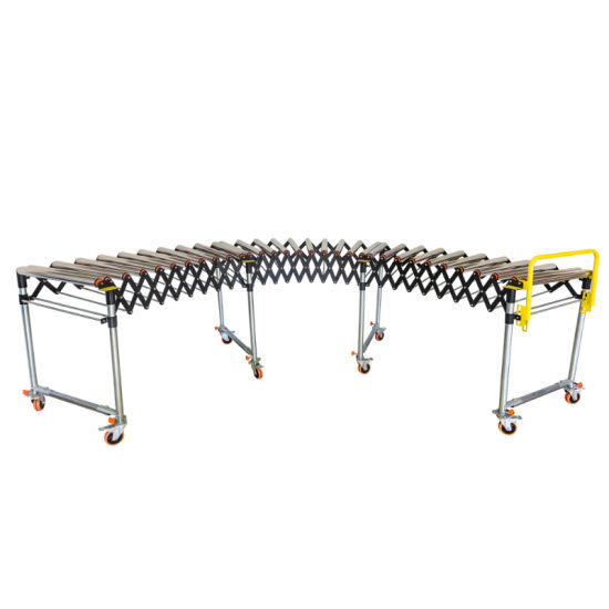 Economical and Versatile Form of Conveyance Expandable/Extendable Gravity Roller Conveyor