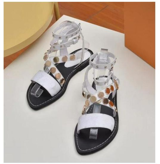 Women Real Leather High Heeled Sandals