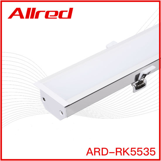 Recessed Linear LED Lighting Residential Customize Length Neutral Packing Linear Lamp