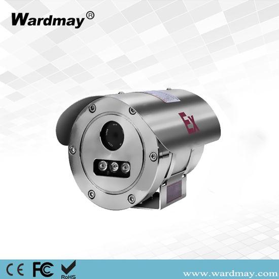 Wardmay Waterproof IP68 Marine Port Military Oil Drilling Security Surveillance 304 Explosion-Proof Poe Atex CCTV IP Camera