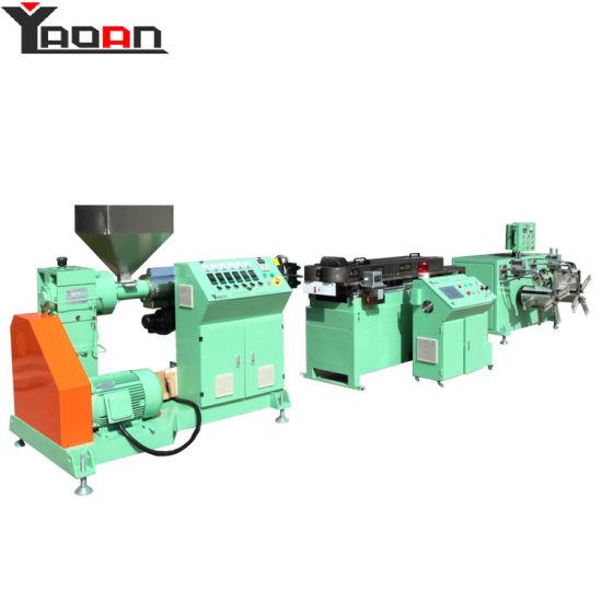 High Speed PP PE PVC EVA PA Corrugated Pipe Machine