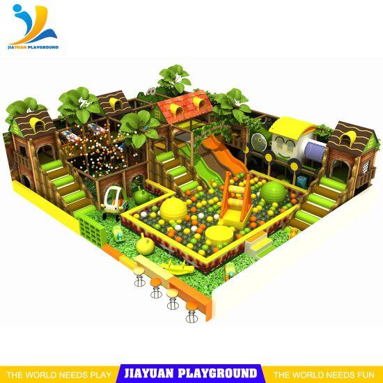 Forest Indoor Playground Kids Adventure Game Indoor Toddler Children Playground Soft Park
