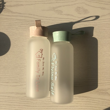 Wholesale Outdoors Glassware Frosted Keep Thermos Flask Sports Water Bottle 2020