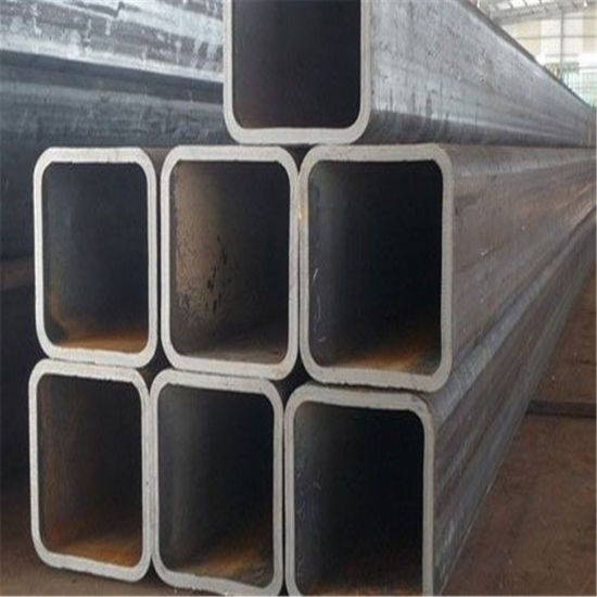 60*60mm 40*80mm Black Surface Hot Rolled Square Tube