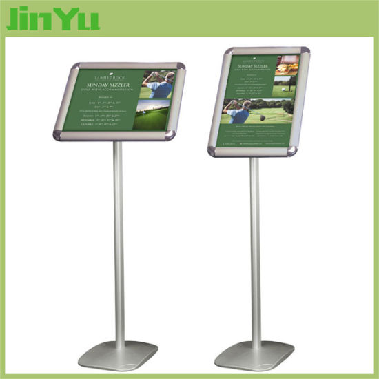A3 Size Indoor Aluminum Snap Frame Poster Stand pictures & photos