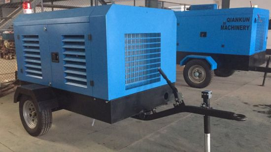 Energy-Saving Products Diesel Portable Screw Air Compressor