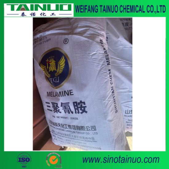 Shuntian Brand Melamine Powder for Coating, Plywood, Particleboard/Laminated