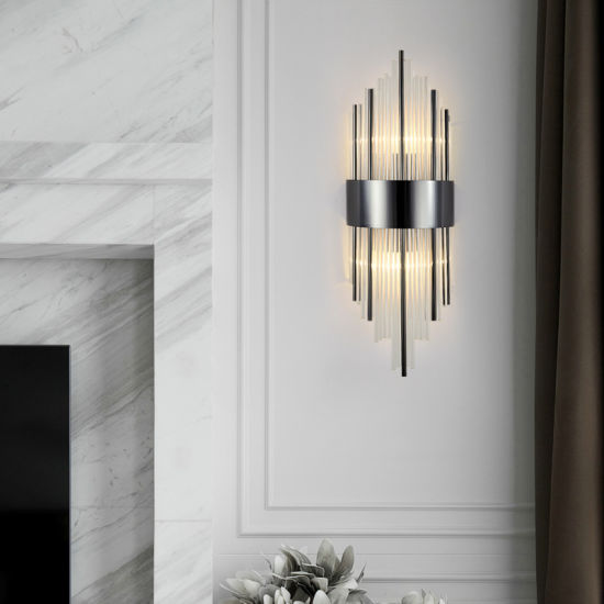 Living Room Modern Crystal Wall Sconces