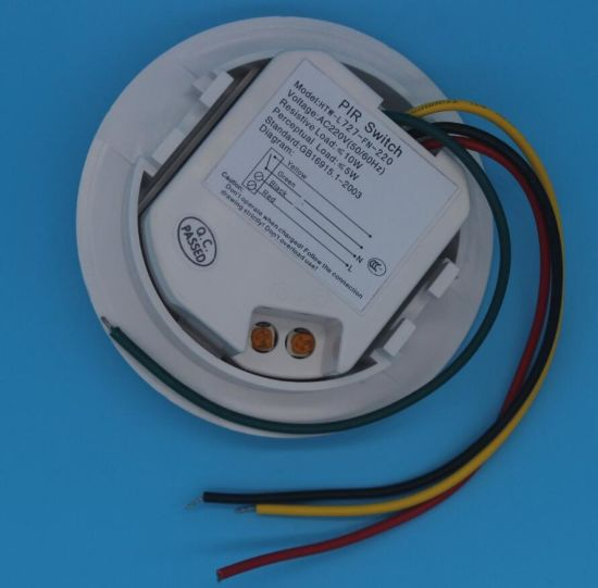 LED Remote Exterior Motion PIR Sensor Detector (HTW-L727) pictures & photos