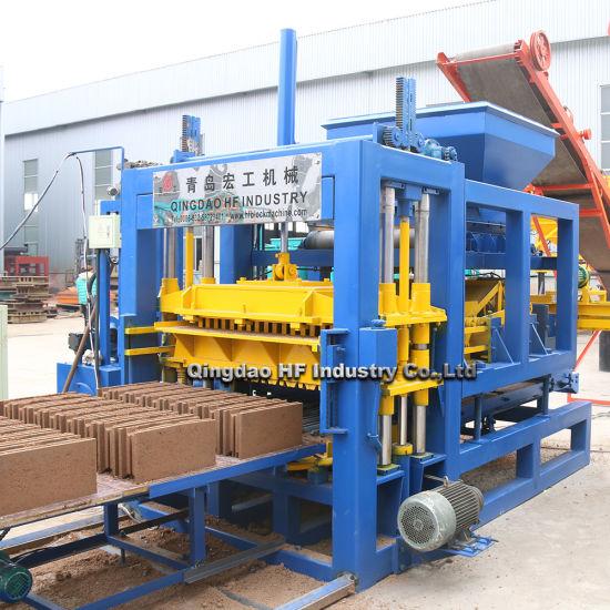 Hot Sales Cement Qt5-15 Automatic Concrete Hollow Moulding Brick Block Making Machine Price