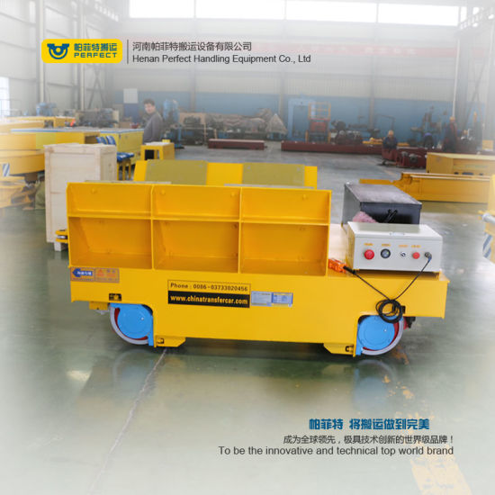 High Temperature Proof Powered Coils Transfer Trolley pictures & photos