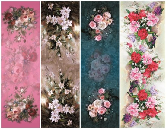 Digital Printed Flower Butterfly Scarf for Lady (C-013) pictures & photos