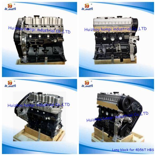 Auto Engine Long Block for Mitsubishi 4D56t 4D56/B4bb/D4bh/4y/3y/2kd/2tr/2L/3L/5L