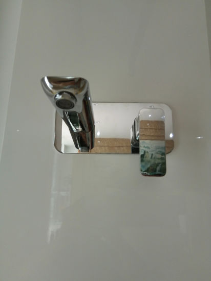 Bathroom Products Solid Brass in Wall Mount Basin Mixer pictures & photos