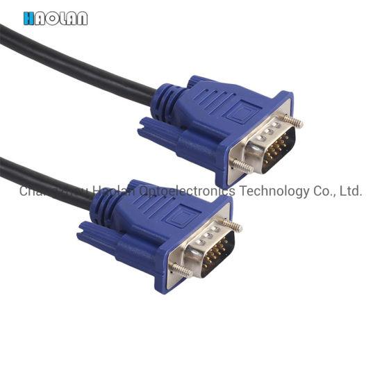 Computer VGA Cable Monitor China VGA to VGA Cable
