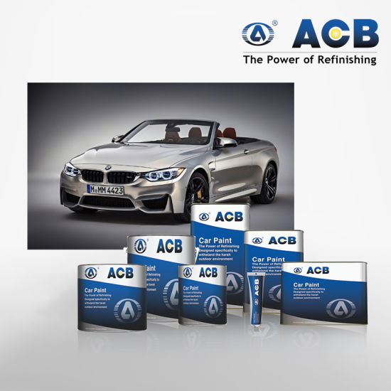 China High Quality Car Refinish Product Auto Paint Price