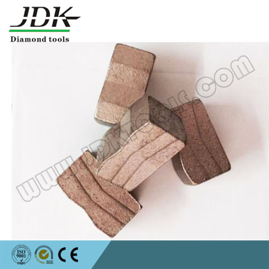 Multi-Blade Diamond Segment for Granite pictures & photos