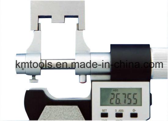Digital Micrometer 25-50mm Measuring Tool Micrometer Digital Scale Micrometer