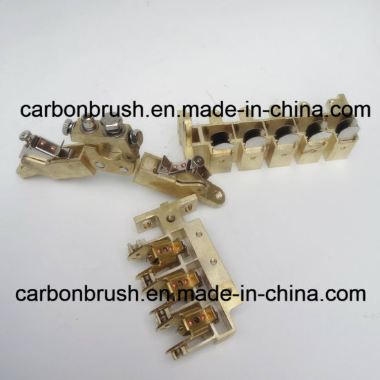 Supplying high quality copper carbon brush holder for slip ring pictures & photos