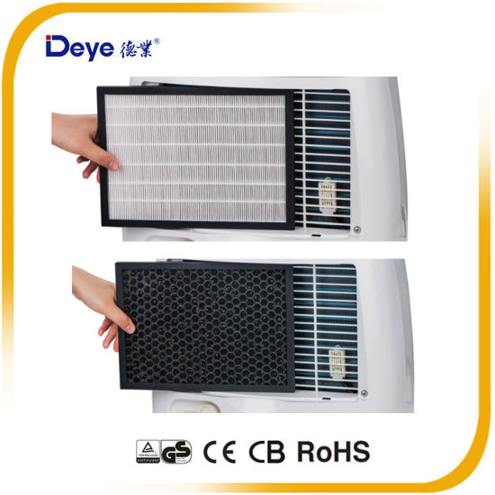 Dyd-F20A Portable Plastic Water Tank LED Display Home Dehumidifier pictures & photos