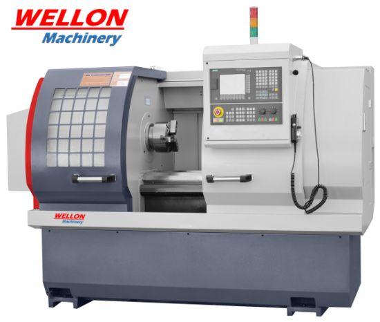 Flat Bed CNC Lathe Machine (CK6140 / CK6150 / CK6160 CNC Turning Lathe Price)