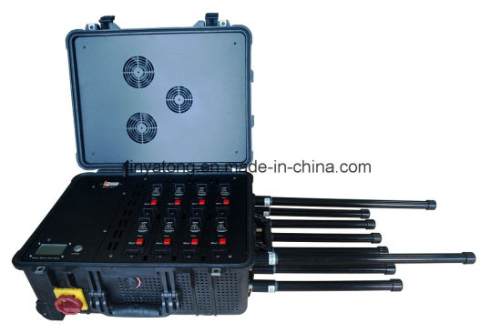 5.8g WiFi 120W Bomb Channels Drone Uav Jammer 400m